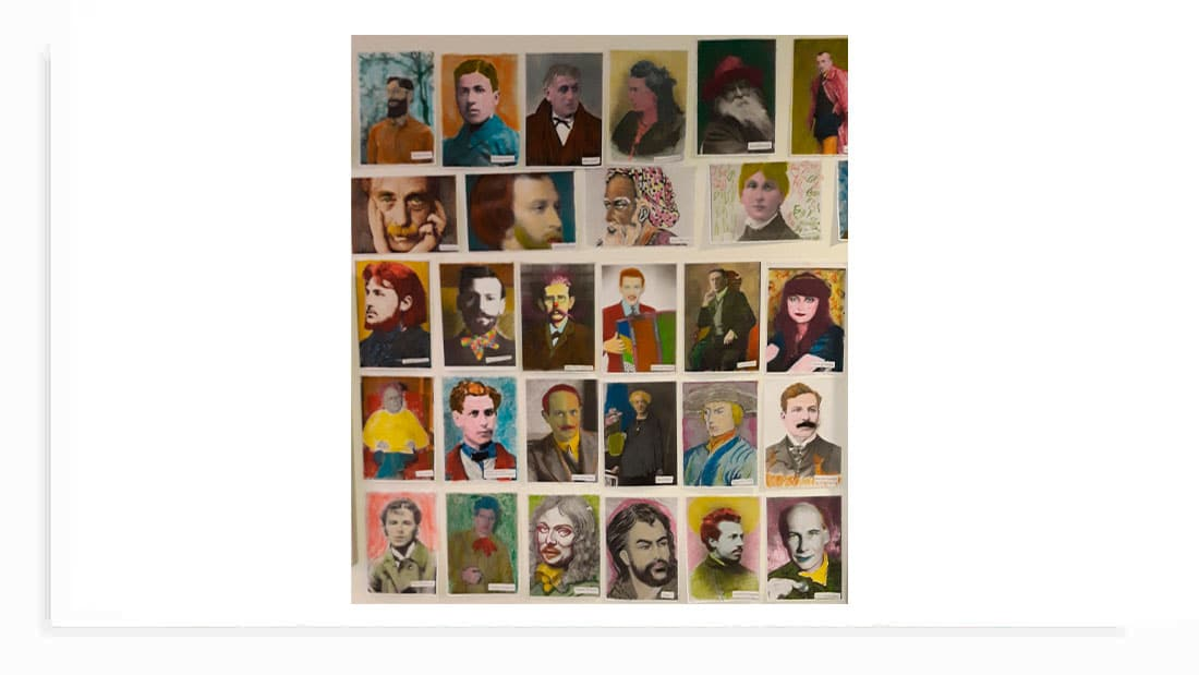 portraits de poètes